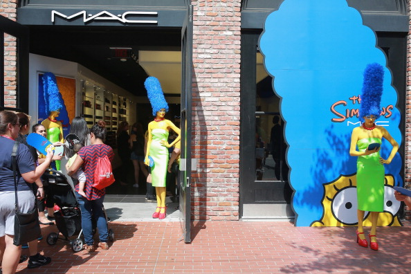 MAC Cosmetics Celebrates The Simpsons Collection Available Exclusively At The MAC Cosmetics Gaslamp Store
