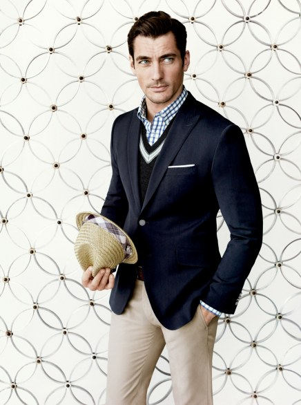 David Gandy per Banana Republic Mad Men