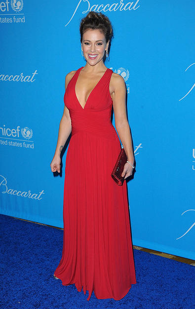Elisabetta Canalis, Angelina Jolie e altre celebrità all'Unicef Ball