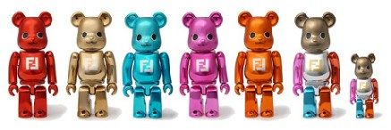 Fendi Forever collection per Be@rbrick