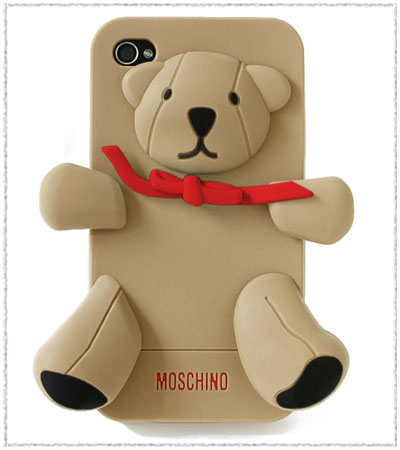 Porta iPhone Orsetto Gennarino di Moschino
