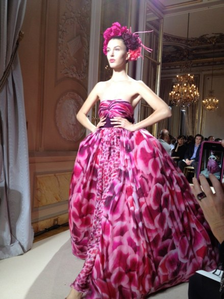 Giambattista Valli Haute Couture Paris P/E 2012