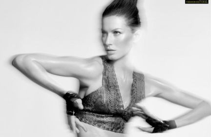 Gisele Bundchen per Interview Magazine