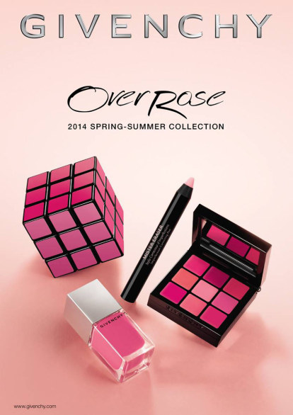 Givenchy Over Rose Collection, make up primavera 2014