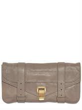 gli accessori must have per l'inverno 2013 pochette Mulberry grey