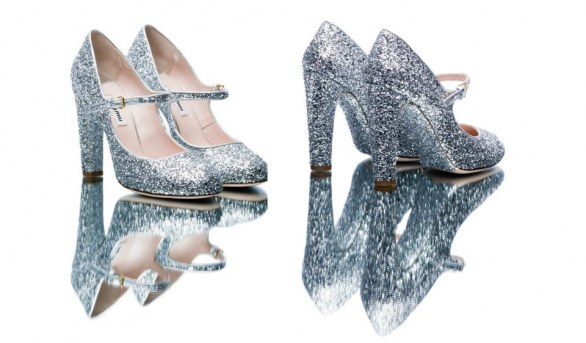 gli accessori must have per l'inverno 2013 mary jane glitterate silver