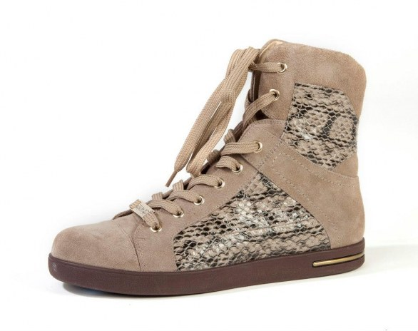 gli accessori must have per l'inverno 2013 sneakers pitone Liu Jo