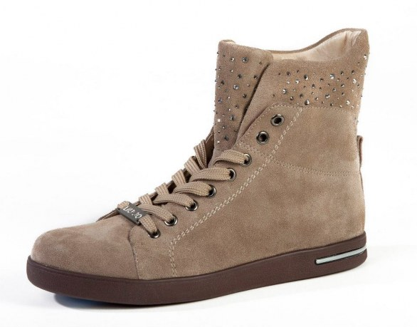 gli accessori must have per l'inverno 2013 sneakers beige Liu Jo