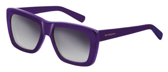 gli accessori must have per l'inverno 2013 sunglasses Givenchy viola