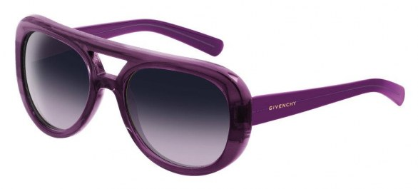 gli accessori must have per l'inverno 2013 sunglasses Givenchy aviator viola