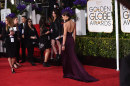 Golden Globe 2015, Katie Holmes in Marchesa