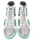 High Top Sneakers con perline by Lanvin