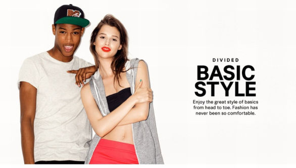 H&M divided a/i 2013 2014