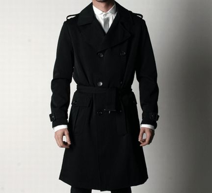moda uomo: i trench Surface to air