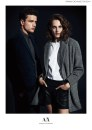 Il top Simon Nessman per Armani Exchange a/i 2014/15