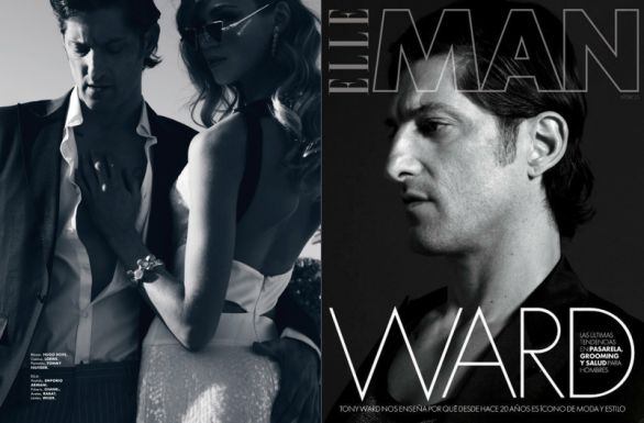 Il top Tony Ward su Elle Man Mexico