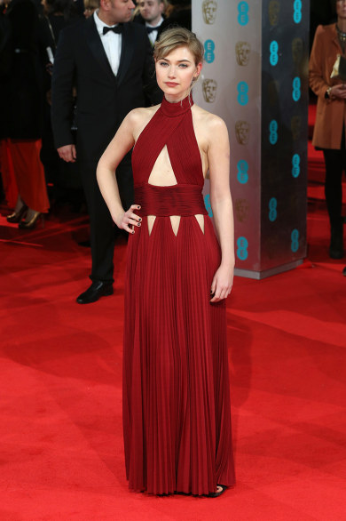 Imogen Poots in Givenchy