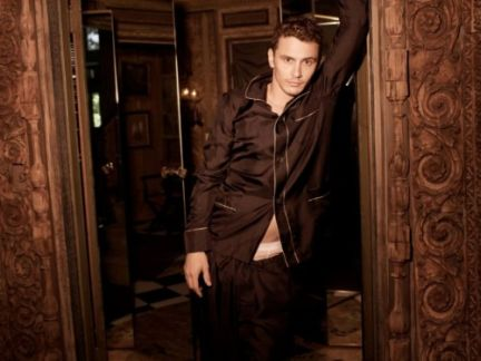 James Franco su Man about Town magazine