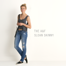 Jeans donna A&F