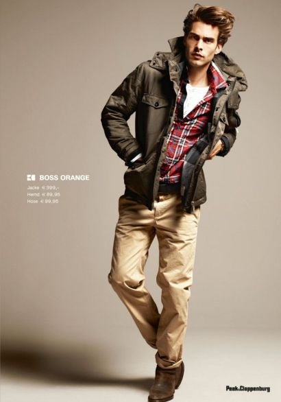Jon Kortajarena for Peek & Cloppenburg autunno 2011