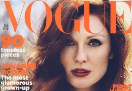 Julianne Moore su British Vogue