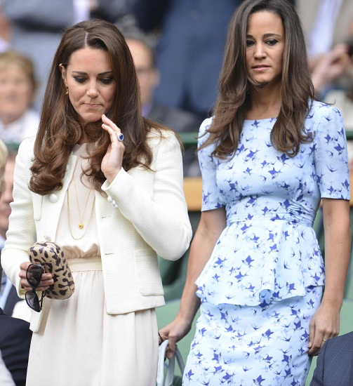 Kate Middleton e Pippa