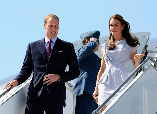 Kate Middleton e William