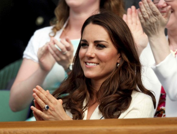 kate middleton olimpiadi 2012