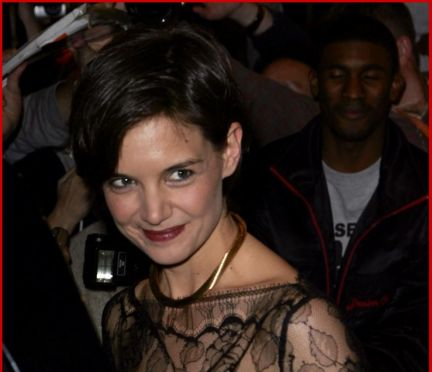 Look of the day: Katie Holmes in Katie Holmes