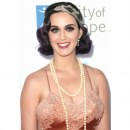 Katy Perry perfetta Flapper Girl in Vintage Nolan Miller