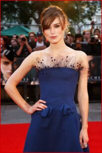 Look of the day: Keira Knightley in Alexis Mabille
