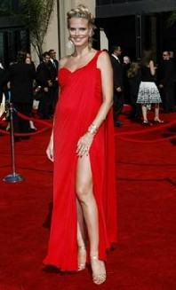 heidi klum emmy awards michael kors