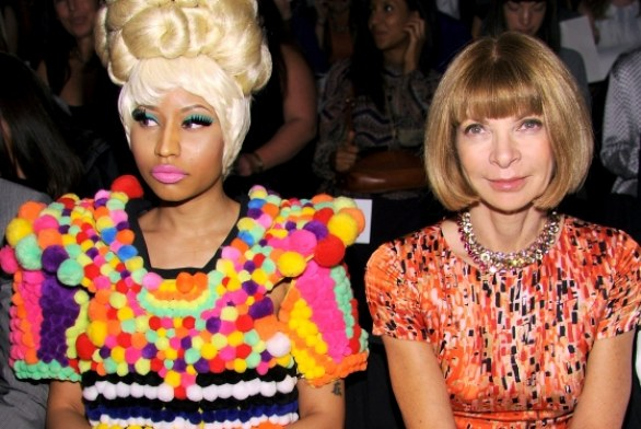 La coppia più strana a New York? Nicki Minaj e Anna Wintour