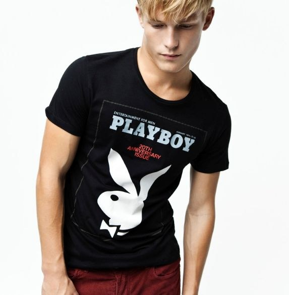 Le T-shirt Playboy by Zara