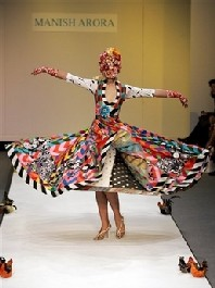 London fashion week 2007: Manish Arora e le sfilate di lunedì 18