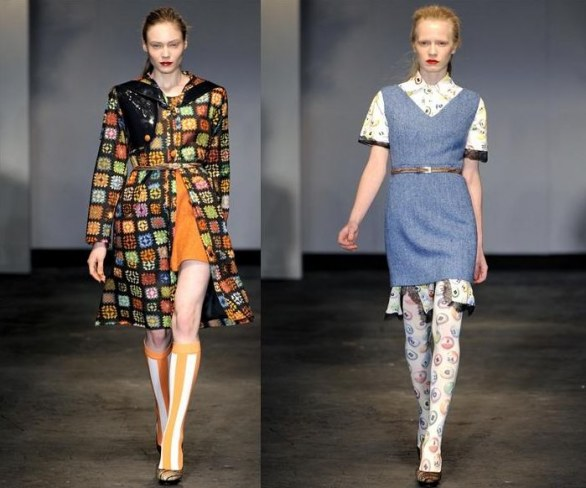 London fashion week donna inverno 2011/12 - House of Holland