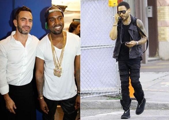 Look da star: Lenny Kravitz, Marc Jacobs e..