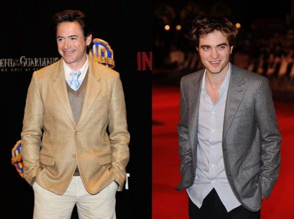 Look da star: Robert Pattinson, Robert Downey jr e..