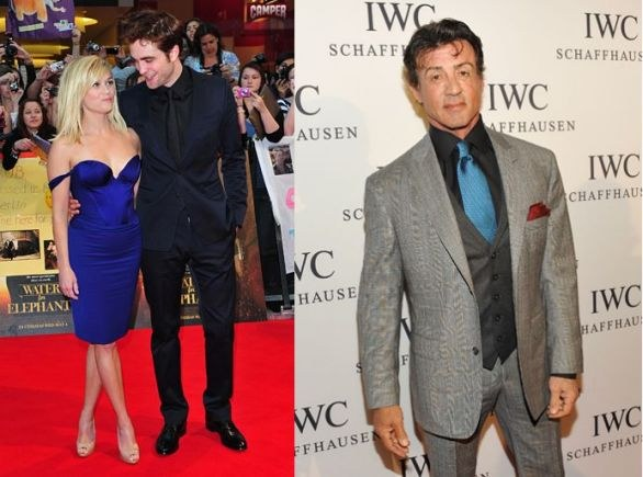 Look da star: Robert Pattinson, Sylvester Stallone e..