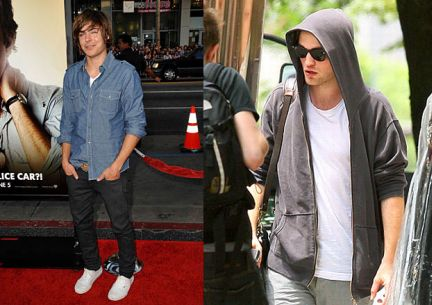 Look da star: Zac Efron, Robert Pattinson e..