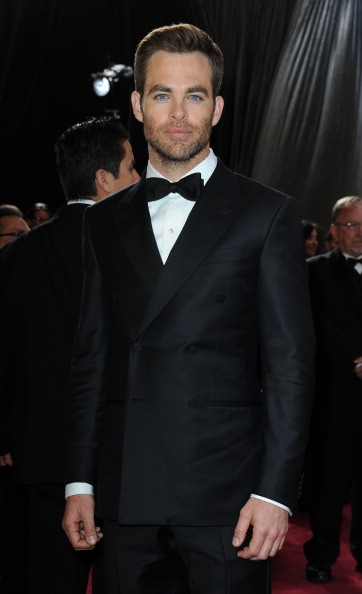 Oscar 2013 Chris Pine