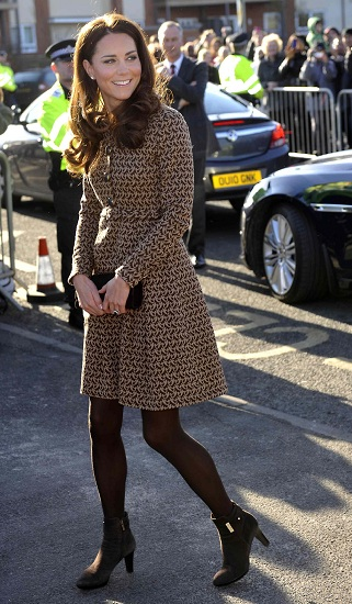Look Kate Middleton- Orla Kiely
