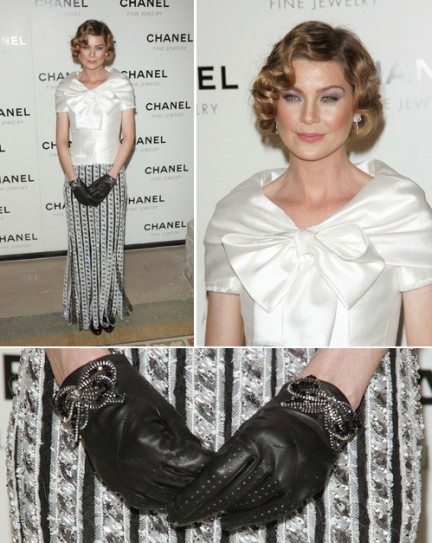 Look of the day: Ellen Pompeo in Chanel