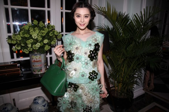 Louis Vuitton apre un flagship store a Shangai: look Fan bing Bing