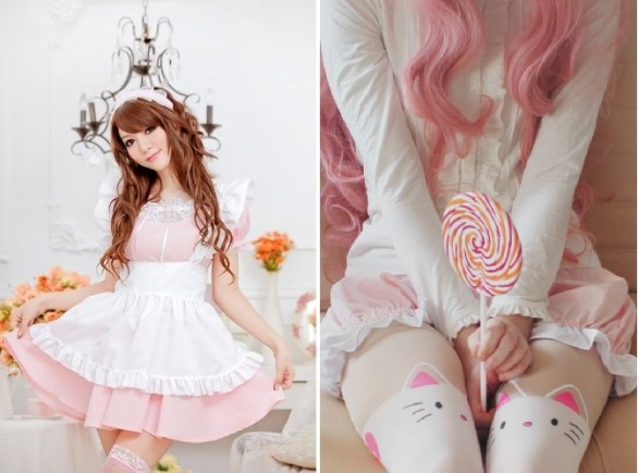 Il look da Maid Lolita