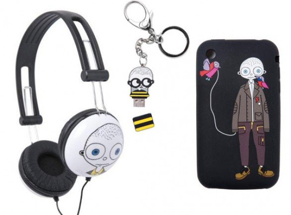 Marc by Marc Jacobs Tech Collection - cuffie cover iPhone