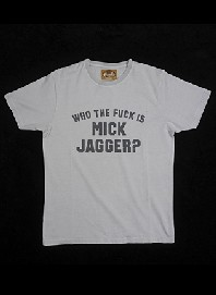 t-shirt worn by rolling stones