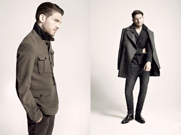 Moda uomo: All saints autunno 2012