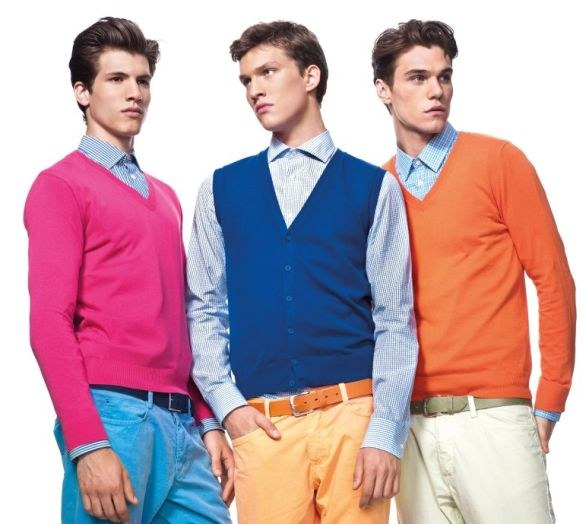 Moda uomo: United colors of Benetton primavera estate 2012