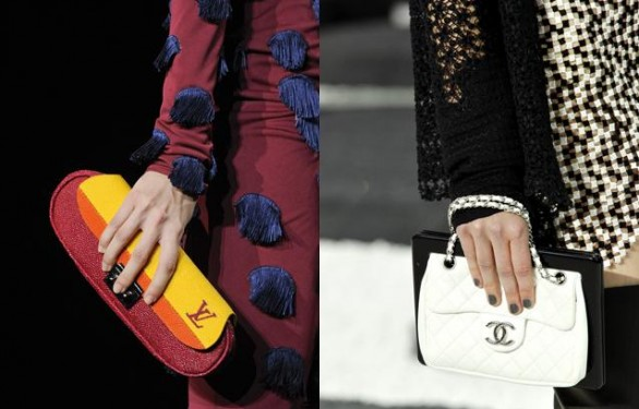Nuove It bag dalle passerelle primavera estate 2011 - Chanel Louis Vuitton Valentino